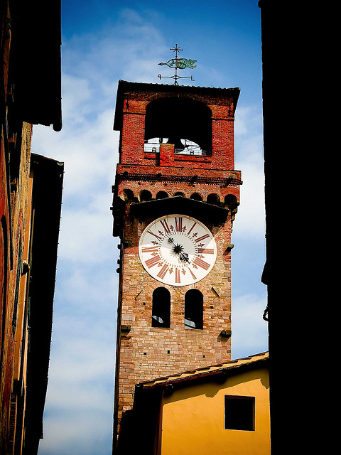 Colourful Clocktower