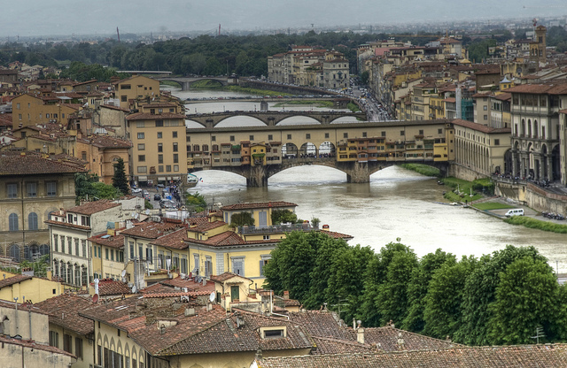 Firenze sotto la pioggia - Florence under the rain